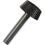 Yahata Neji, M4 Steel, Yuliya Resin Thumb Screw, Chrome Plated Finish, 10mm