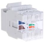Molex Premise Networks Cat5e RJ45 8 Port Jack, UTP Shielding