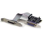 Startech 2 Port PCIe LPT Parallel Serial Board