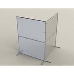 Bosch Rexroth Floor Mount Protective Screen 2000mm 1500;1500mm