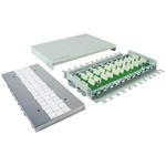 Telegartner Cat7a 6 Port Connector Module, STP, UTP Shielding