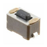 Black Slide Tactile Switch, Single Pole Single Throw (SPST) 50 mA 1.5mm Surface Mount