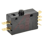 DPDT Button Microswitch, 15 A
