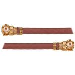 I-Pex Female U.FL to Female U.FL Coaxial Cable, 50 Ω