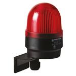 Werma EM 205 Red Xenon Beacon, 24 V dc, Blinking, Wall Mount