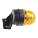 Werma EM 205 Yellow Xenon Beacon, 230 V ac, Blinking, Wall Mount