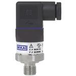 WIKA Pressure Sensor for Gas, Liquid , 40bar Max Pressure Reading Analogue