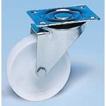 Guitel Braked Swivel Swivel Castor, 90kg Load Capacity, 80mm Wheel Diameter