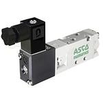 EMERSON – ASCO 5/2 Pneumatic Control Valve - Solenoid/Pilot Metric M5 519 Series 24V ac