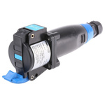 Emerson Network Power Cable Mount 2P+E Industrial Power Socket ATEX, IECEx, Rated At 16.0A, 200-250 Vac 50/60Hz