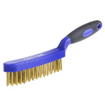RS PRO Blue 25mm Brass Wire Brush, For Engineering, General Cleaning, Rust Remover