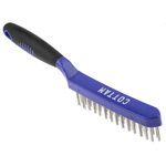 RS PRO Blue 30mm Steel Wire Brush, For Surface Preparation