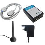 Siretta GSM & GPRS Modem Evaluation Kit LC300-UMTS STARTER KIT, RS232, USB 2.0, SMA Female Connector