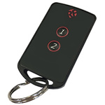 RF Solutions 2 Button Remote Control Fob, FOBBER-8T2, 869.5MHz