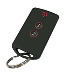 RF Solutions 2 Button Remote Key, FOBLOQF-4T2, 433.92MHz