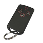 RF Solutions 3 Button Remote Key, FOBLOQF-4T3, 433.92MHz