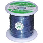 Sunhayato Blue, 0.08 mm² Hook Up Wire JUNFLON Series , 100m