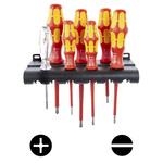 Wera VDE Slotted; Phillips; Voltage Tester Screwdriver Set 7 Piece