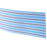 TE Connectivity 50 Way Unscreened Flat Ribbon Cable, 63.5 mm Width, 30m