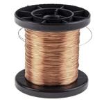 Block Single Core 0.22mm diameter Copper Wire, 215m Long