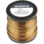 Block Single Core 1.12mm diameter Copper Wire, 44m Long