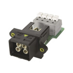 HARTING, HARTING PushPull Power Connector Cable Mount Socket, 4P, Cage Clamp Termination, 12A, 48 V