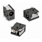Wurth Elektronik, WR-DC Right Angle DC Socket Rated At 5.0A, 18.0 V, PCB Mount, length 8.0mm, Gold, Tin