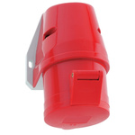 Bals IP44 Red Wall Mount 3P+N+E Industrial Power Socket, Rated At 16.0A, 415.0 V
