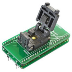 Seeit Straight SMT Mount IC Socket Adapter, 44 Pin Female DIP to 44 Pin Female MLF/QFN