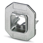 Phoenix Contact, VS-PPC-F1-RJ45-MNNA-1C-F Panel Mount Frame for use with RJ45 Socket Inserts
