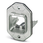 Phoenix Contact, VS-PPC-F1-RJ45-MNNA-1R-F Panel Mount Frame for use with RJ45 Socket Inserts