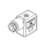 Molex, 121023 2P+E DIN 43650 B DIN 43650 Solenoid Connector, 250 V ac, 300 V dc Voltage