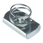Unistrut Channel Nut, M6, Nut Base Dimensions 21 x 41mm, Steel, 0.03kg