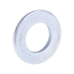 Bright Zinc Plated Steel Plain Washer, 2.5mm Thickness, M12