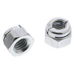 Aerotight, M5, Bright Zinc Plated Steel Aerotight Lock Nut