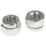 Aerotight, M8, Bright Zinc Plated Steel Aerotight Lock Nut