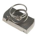 Unistrut Channel Nut, M6, Nut Base Dimensions 21 x 41mm, Stainless Steel, 0.3kg