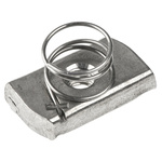 Unistrut Channel Nut, M8, Nut Base Dimensions 21 x 41mm, Stainless Steel, 0.03kg