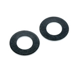Bright Zinc Plated Steel Plain Washer, 1.1mm Thickness, M8 (Form B)