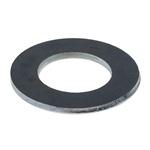 Bright Zinc Plated Steel Plain Washer, 1.8mm Thickness, M12 (Form B)