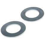 Bright Zinc Plated Steel Plain Washer, 2.2mm Thickness, M20 (Form B)