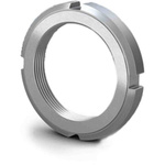 RS PRO, M65, 12mm Plain Steel Lock Nut
