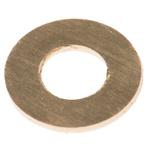Brass Plain Washer, 0.5mm Thickness, M3