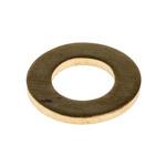 Brass Plain Washer, 1.6mm Thickness, M8