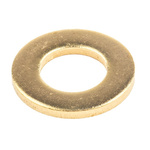 Brass Plain Washer, 2mm Thickness, M10