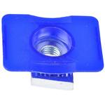 Unistrut Channel Nut, M6 x 41 mm, Nut Base Dimensions 45 x 34mm, Zinc Plated Steel, 0.04g