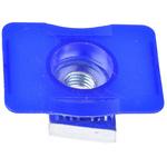 Unistrut Channel Nut, M8 x 41 mm, Nut Base Dimensions 45 x 34mm, Zinc Plated Steel, 0.03g