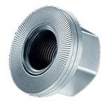 Heico, M16, 34.5 (Dia.)mm Zinc Steel Wedge-Lock Nut Lock Nut