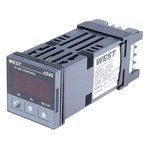 West Instruments N6500 PID Temperature Controller, 48 x 48 (1/16 DIN)mm, 2 Output Relay, 100 → 240 V ac Supply