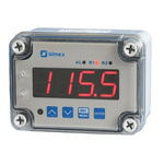 Simex On/Off Temperature Controller, 110 x 80mm, Thermocouple Input, 230 V ac Supply